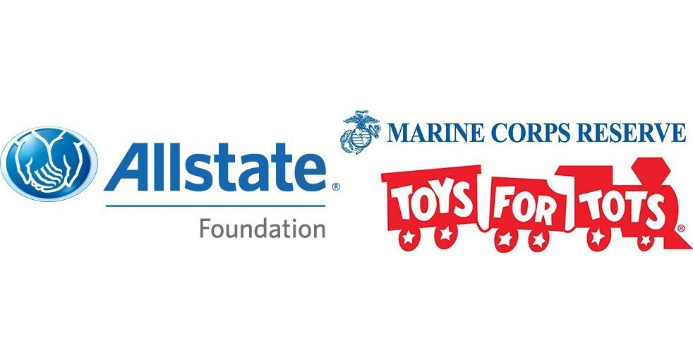 Toys For Tots Train Logo : Hundreds of allstate agency owners partner with toys for