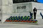 Cérémonie du jour du Souvenir (Groupe CNW/Légion royale canadienne)