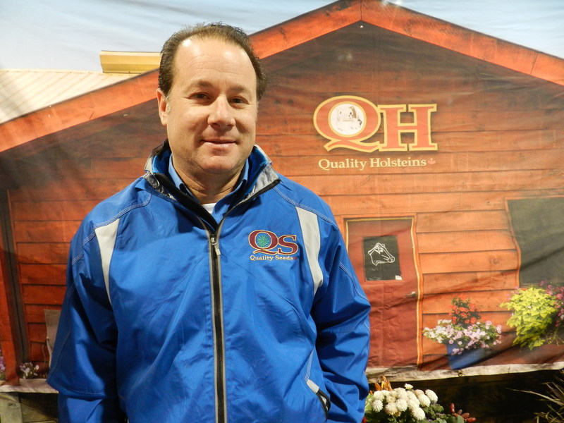 (Photo of Ari Eckstein – R.I. Tennison photo) (CNW Group/Royal Agricultural Winter Fair)