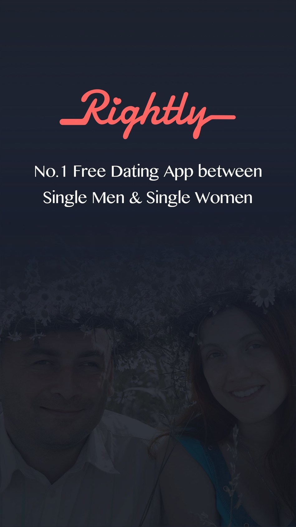 Rightly - Free Dating App For Straight Singles