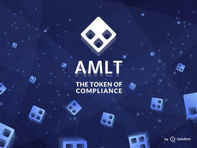 AMLT: The token of compliance from Coinfirm (PRNewsfoto/Coinfirm)