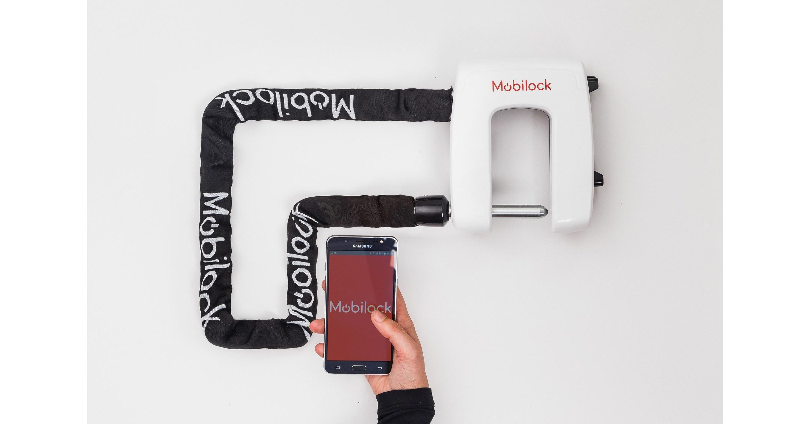 mobilock das sicherste elektronische fahrradschloss der welt. Black Bedroom Furniture Sets. Home Design Ideas