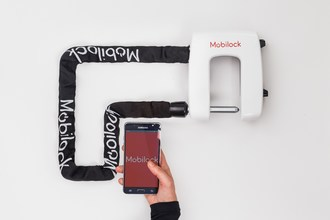Mobilock: World's Safest Electronic Bike Lock (PRNewsfoto/Mobilock)