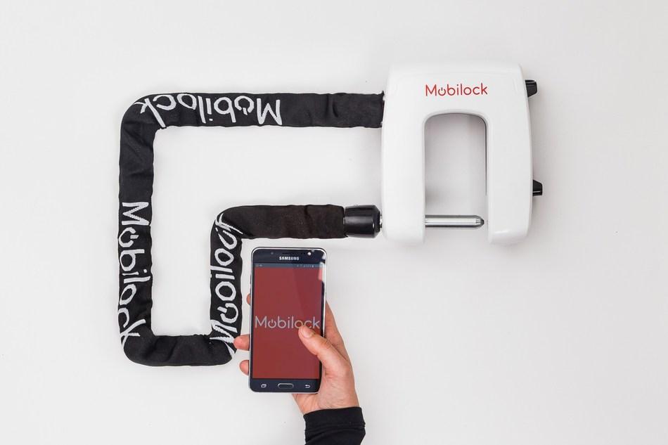 Mobilock: World's Safest Electronic Bike Lock (PRNewsfoto/Mobilock)