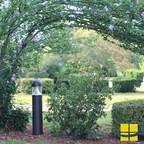 Outdoor Pathway Lighting: 3000K Ambient Bollard Lights