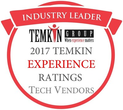 VMware, IBM Software, IBM SPSS, and Google Earn Highest Customer Experience Ratings for Enterprise IT, According to New Temkin Group Research