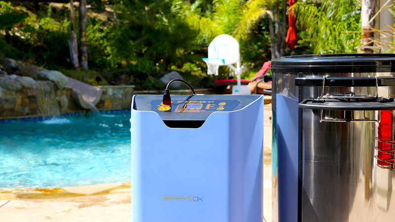 """Sparkbox is introducing a new innovative electric power station it calls """"eco-portable energy."""""""