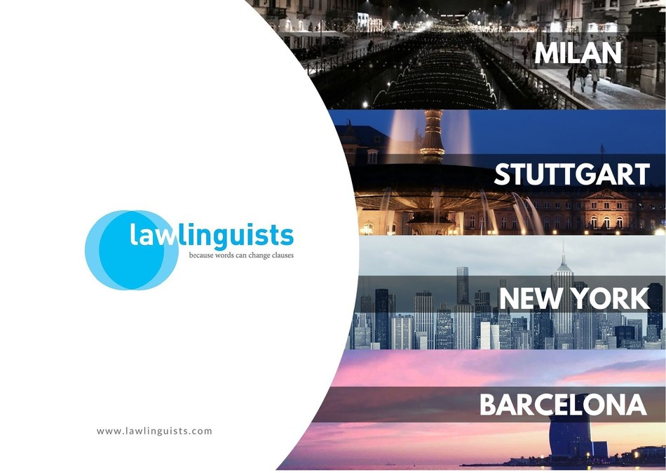 "Lawlinguists - Legal translation service ""by lawyers for lawyers"" (PRNewsfoto/Lawlinguists)"