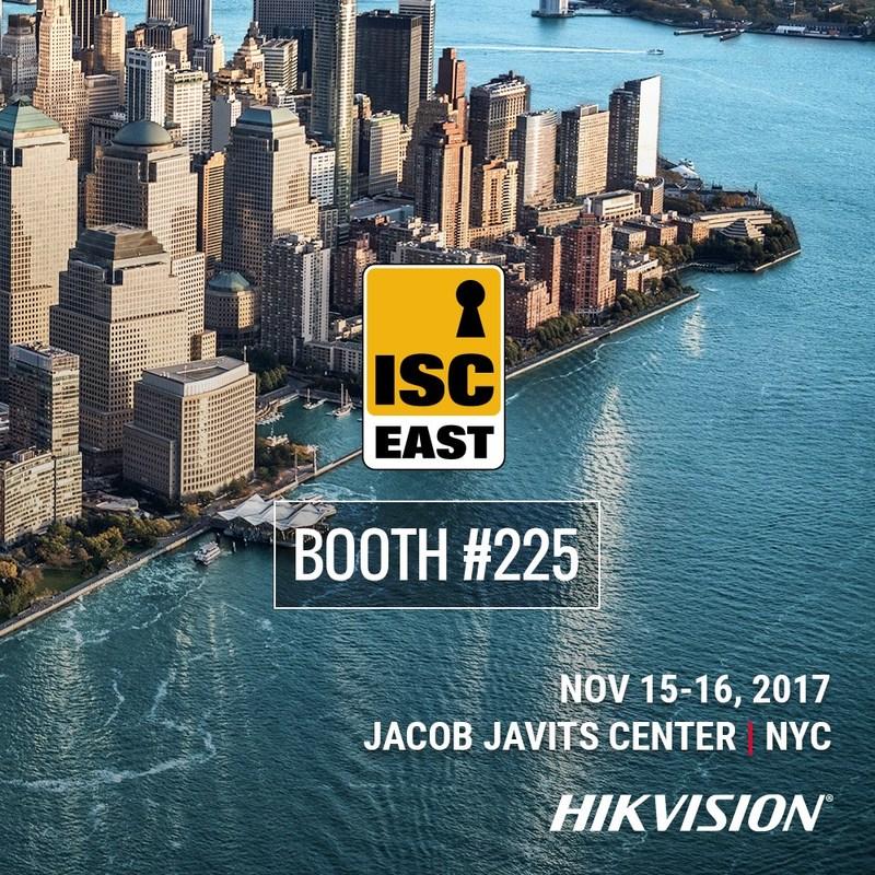Hikvision tiendra dans le cadre du salon ISC East à New York, le 16 novembre, deux séances éducatives consacrées aux caméras TurboHD et à l'intelligence artificielle et l'apprentissage en profondeur, respectivement. (PRNewsfoto/Hikvision)