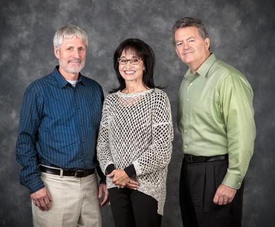 The co-founders of Hawkins Point Partners: Steve Mersky, Heather Morris Kyer, John Cornwall.