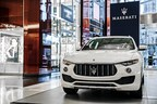 Maserati Joins Holiday Festivities In New York City With Levante SUV Display