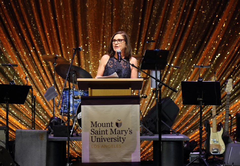 """During a gala on Nov. 11, 2017, Mount Saint Mary's University President Ann McElaney-Johnson announced the largest comprehensive campaign in the 92-year history of Los Angeles' only women's university. Learn how a $100 million """"Unstoppable Campaign  for Mount Saint Mary's University"""" will help the school realize a host of ambitious plans to support students' dreams: www.msmu.edu/campaign."""