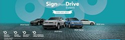 Sign the Drive Event at New Century Volkswagen.