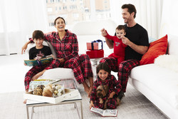 KN Karen Neuburger Holiday Pajamas for the Whole Family