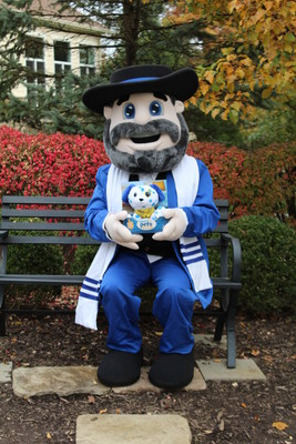 Celebrate National Mensch Day this Hanukkah season with Moshe, the life-size Mensch on a Bench, and his new Dreidel Dog.