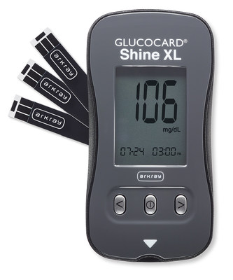 GLUCOCARD Shine XL blood glucose monitoring system is now available for order from ARKRAY USA.