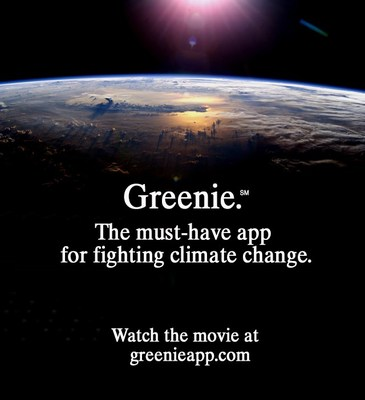 Greenie. The must-have app for fighting climate change.