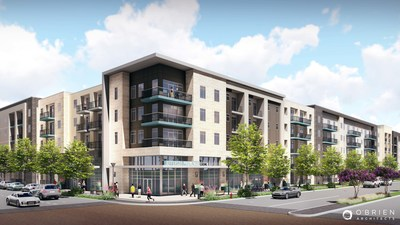 JPI announces close of finance for Jefferson Promenade in Irving urban center.