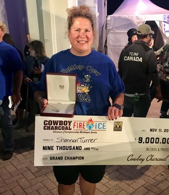 Cowboy Charcoal Announces Winner of Second Annual Fire & Ice Women's Championship Barbeque Series