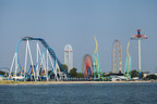 Cedar Point, on the shores of Lake Erie in Sandusky, Ohio, is known as The Roller Coaster Capital of the World (R).