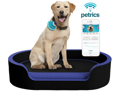 Petrics, World's First Smart Pet Bed and Pet Health Ecosystem, Named 2018 CES Innovation Awards Honoree