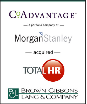 Bgl Advises Coadvantage In Its Acquisition Of Total Hr