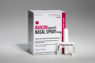 NARCAN® Nasal Spray 4mg is the only FDA-approved, needle-free formulation of naloxone for the emergency treatment of a known or suspected opioid overdose.