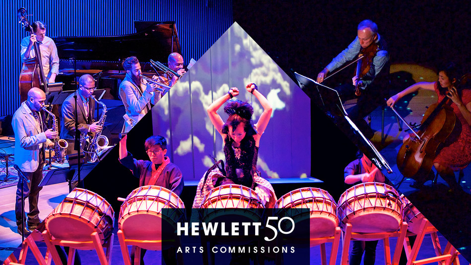 Recipients of 2017 Hewlett 50 Arts Commissions for music composition include (l-r) SFJAZZ, Dohee Lee, and Kronos Quartet.