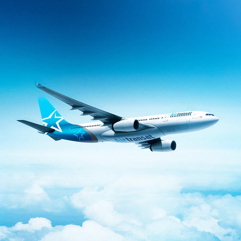 La nouvelle livrée d'Air Transat (Groupe CNW/Transat A.T. Inc.)