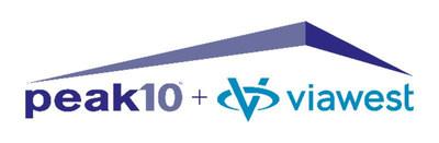Peak 10 ViaWest Logo (PRNewsfoto/Peak 10)