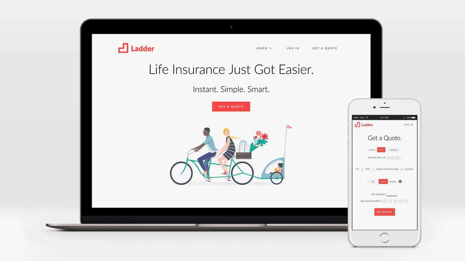 Ladder: life insurance made instant, simple and smart.