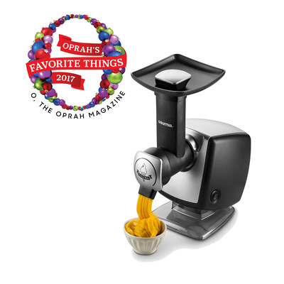 Gourmia GSI180 Automatic Healthy Frozen Dessert Maker allows users to eat healthy - it creates homemade frozen yogurt, sherbet, and gelato without the extra calories, sugar, additives, or preservatives.