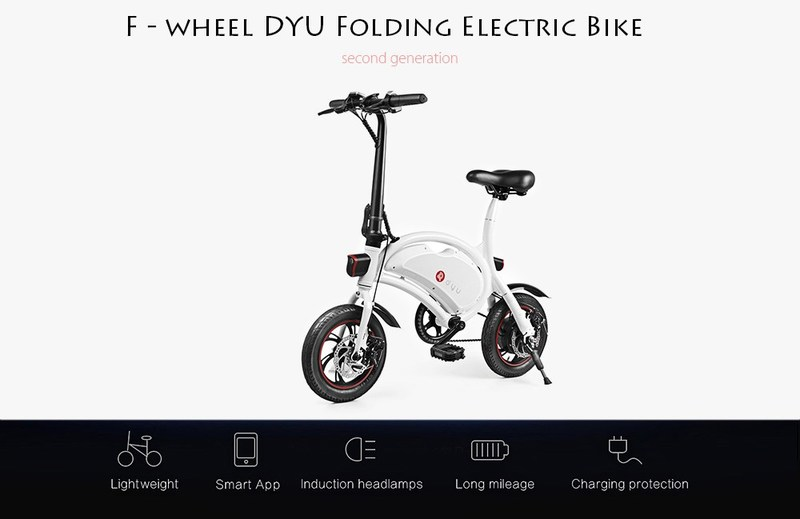 DYU Folding Electric Bike