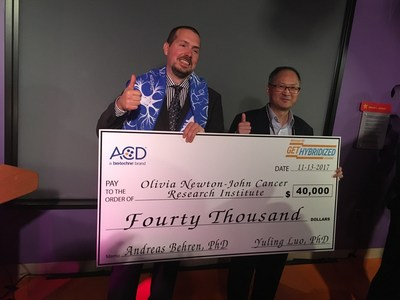 ACD Awards 40,000 USD to Dr. Andreas Behren of Olivia Newton-John Cancer Research Institute, Melbourne, Australia, for the continuation of cancer immunotherapy research with RNAscope ISH technology.