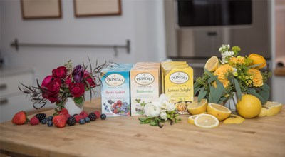 Twinings® invites new and seasoned tea drinkers to unwind with their three latest herbal tea blends – Lemon DelightTM, Berry FusionTM and Buttermint®.
