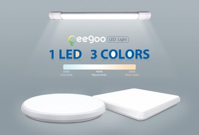 Oeegoo LED Dimmable - 1 LED, 3 Colors