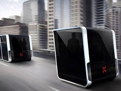 O ônibus elétrico inteligente de 2 metros de comprimento, o qual será desenvolvido pela Foton Motor e pela TDG