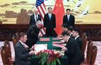 Foton Motor firma memorando de entendimiento con TDG para identificar soluciones de ciudad inteligente durante la primera visita del presidente Donald Trump a China