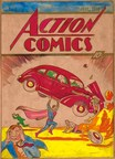 One-of-a-Kind, Original Superman Art Headed for Auction: Action Comics #1 Silver Print Auction Rocks Collectibles World