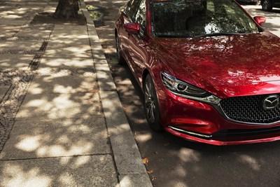 Extérieur de la berline Mazda6 (spécifications pour le marché nord-américain) (Groupe CNW/Mazda Canada Inc.)