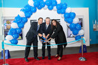 Ribbon Cutting Ceremony with CEO Dr. Steven Schnur, COO Dr. Perry Krichmar and Dr. Sadiya Farooqui.
