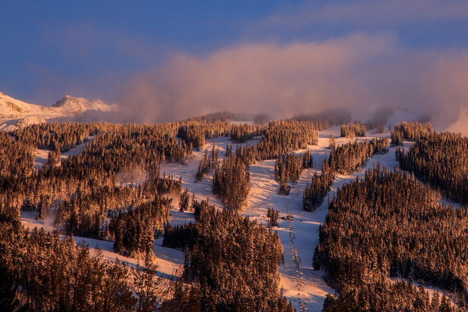 Whistler Blackcomb, North America's largest ski resort, to open for the season on Friday, Nov. 17. Photo by Mitch Winton/Coast Mountain Photography and courtesy of Vail Resorts.