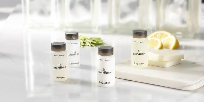 Sheraton Hotels & Resorts Introduces New Bath and Body Collection, Byredo's le grand bain