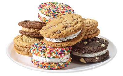 Great American Cookies Bake's Up New Premium Double Doozies.