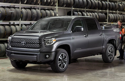 Exterior view of the Toyota Tundra, which is one of the vehicles available as part of these specials.