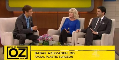 Dr. Babak Azizzadeh Presents Groundbreaking Smile Surgery for Bell's Palsy and Facial Paralysis on Dr. Oz