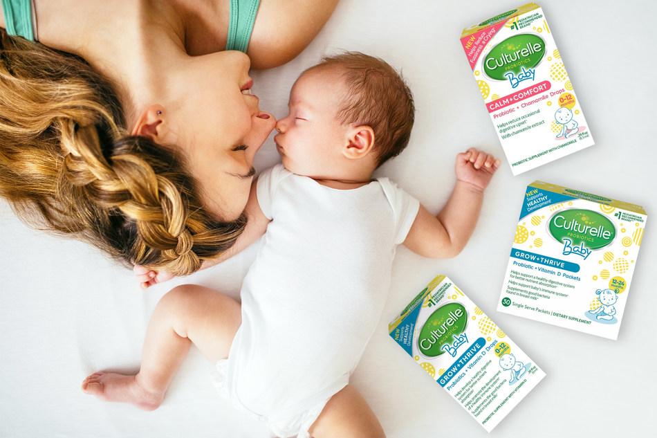 New Culturelle® Baby Probiotics for Baby's Healthy Development