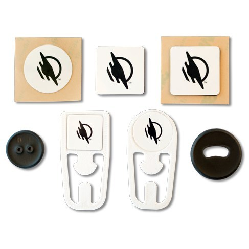 Smart WayTags are available as stickers, magnets, buttons, or clips and are compatible with the WayAround app for anyone with vision loss.