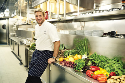 Celebrity chefs are taking their skills to sea, using fresh ingredients and creative know-how to wow cruise passengers. Among famous names shipboard is award-winning Australian-born chef Curtis Stone, with SHARE restaurants on three Princess Cruises ships.  -- Photo courtesy of Princess Cruises