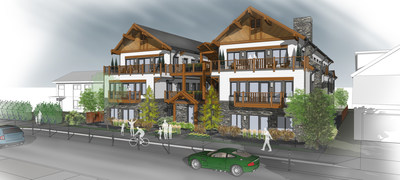 Street View of Buffalo Paddock (CNW Group/Canadian Rocky Mountain Resorts Ltd.)
